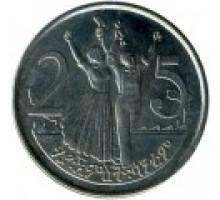 Эфиопия 25 сантимов 1977-2012