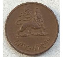 Эфиопия 10 центов 1944