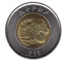 Эфиопия 1 быр 2010-2016