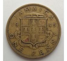 Ямайка 1 пенни 1945