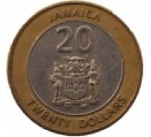 Ямайка 20 долларов 2000-2008