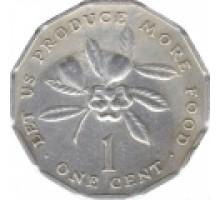 Ямайка 1 цент 1975-2002