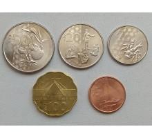 Вануату 2015. Набор 5 монет