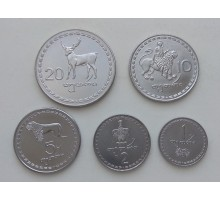 Грузия 1993. Набор 5 монет