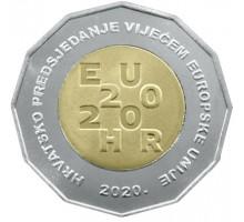 Хорватия 25 кун 2020. Хорватия - председатель Совета ЕС