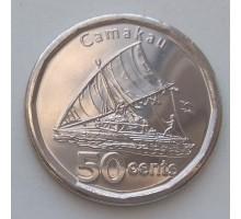 Фиджи 50 центов 2012-2013