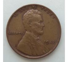 США 1 цент 1942