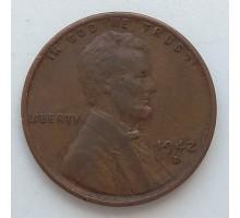 США 1 цент 1942 D