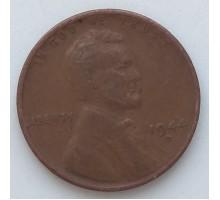 США 1 цент 1944 D