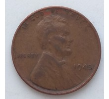 США 1 цент 1945