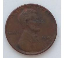 США 1 цент 1945 D