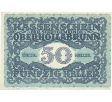 Австрия 50 геллеров 1920 Oberhollabrunn Нотгельд