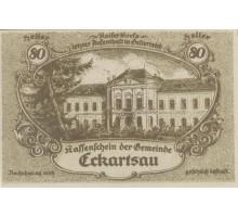 Австрия 80 геллеров 1920 Eckartsau Нотгельд