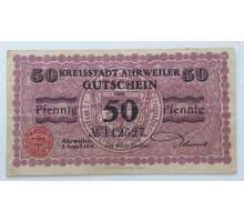 Германия 50 пфеннигов 1918 Arhweiler Нотгельд