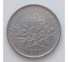 Франция 5 франков 1970
