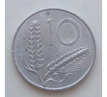 Италия 10 лир 1952