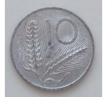 Италия 10 лир 1955