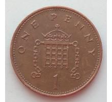 Великобритания 1 пенни 1998