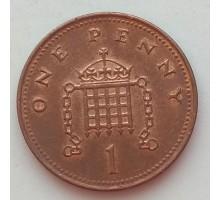 Великобритания 1 пенни 2004