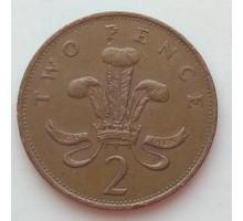 Великобритания 2 пенса 1985