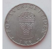 Швеция 1 крона 1982