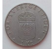 Швеция 1 крона 1988