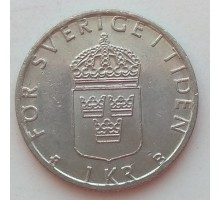 Швеция 1 крона 2000