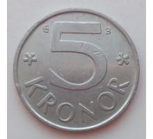 Швеция 5 крон 2002