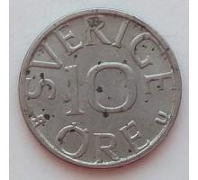 Швеция 10 эре 1980