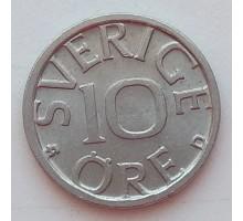Швеция 10 эре 1988