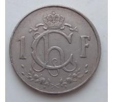 Люксембург 1 франк 1960