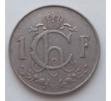 Люксембург 1 франк 1964