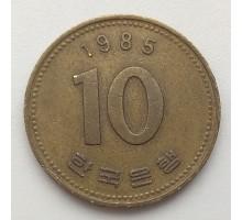 Южная Корея 10 вон 1985