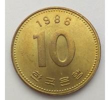 Южная Корея 10 вон 1986