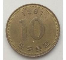 Южная Корея 10 вон 1991