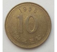 Южная Корея 10 вон 1995