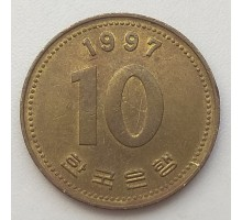 Южная Корея 10 вон 1997