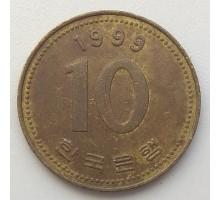 Южная Корея 10 вон 1999