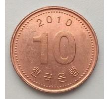 Южная Корея 10 вон 2010