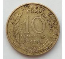 Франция 10 сантимов 1971