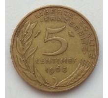 Франция 5 сантимов 1968