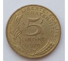 Франция 5 сантимов 1979