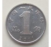 Китай 1 цзяо 2011