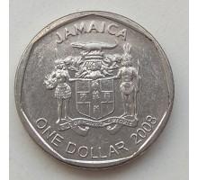 Ямайка 1 доллар 2008