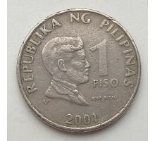 Филиппины 1 писо 2001
