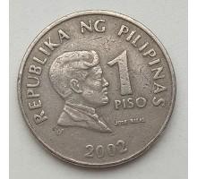 Филиппины 1 писо 2002