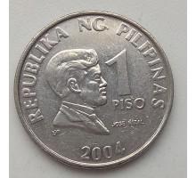 Филиппины 1 писо 2004