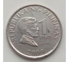 Филиппины 1 писо 2009