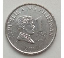 Филиппины 1 писо 2010