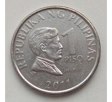 Филиппины 1 писо 2011